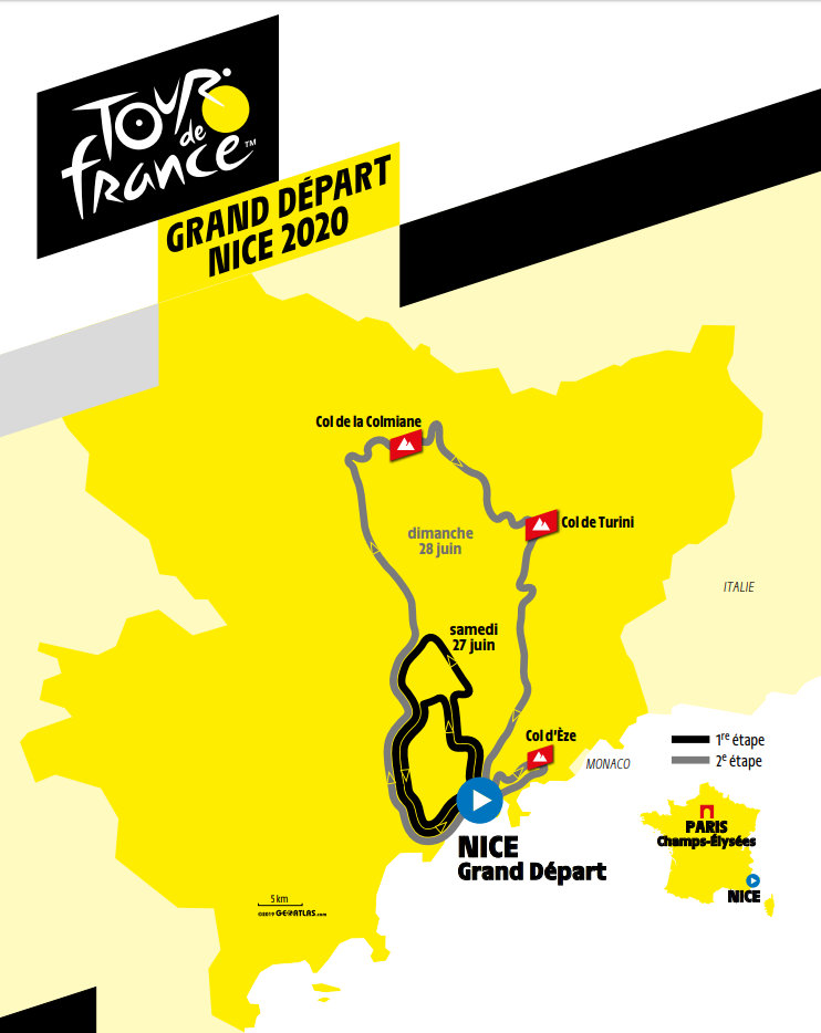 proloog tour de france 2020 Nice