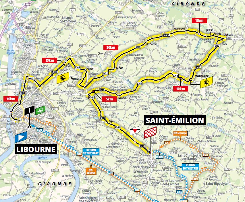 route Etappe 20 tour de france 2021